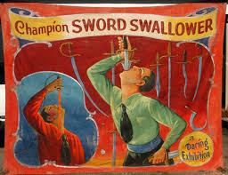 sword-swallower